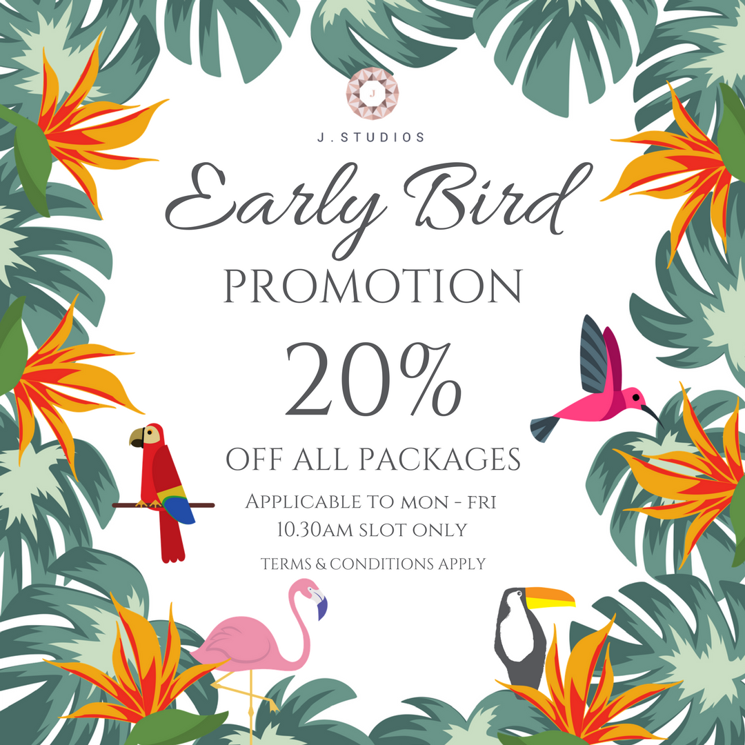 J Studios Early Bird Promotion