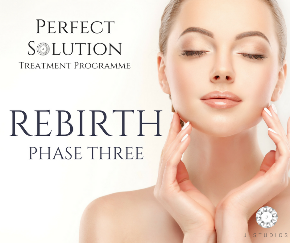 J Studios Perfect Solution Facial Rebirth Phase 3