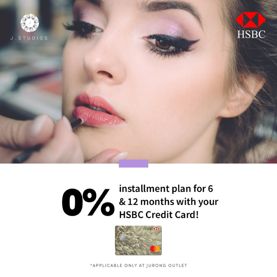 J Studios HSBC Credit Card Installment