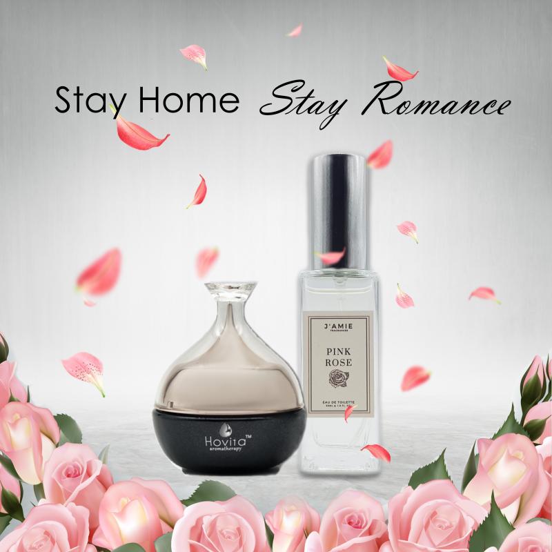 Hovita Rose Moisturizer and JAIME Rose Perfume